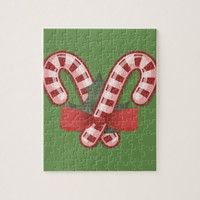Candy Cane Jigsaw Puzzle