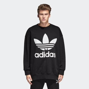 Long-sleeved Adidas Sweater Thickened Men Hoodies