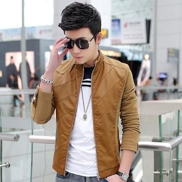 Mens Casual Slim Jacket