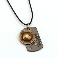 One Piece Necklace Luffy Hat Pendant