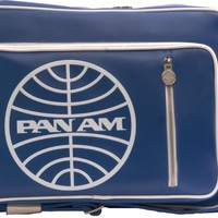 Pan Am Originals Luggage - Secret Agent Travel Bag. With Pan Am Airlines Classic Logo