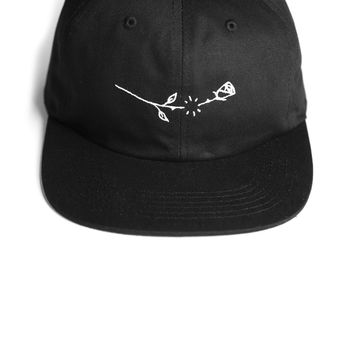 Snapping Rose Hat 6-Panel Unstructured