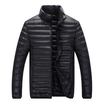 Classic Puffer Jacket Black
