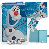 Frozen Olaf iPad Air Faux Leather PVC Case with FREE Stylus