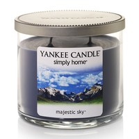 Yankee Candle simply home 10-oz. Majestic Sky Jar Candle (Blue)