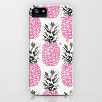 Pineapple Love iPhone & iPod Case by Pink Berry Pattern