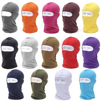 Mountaineering outdoor sports bike mask masks windproof cotton full face mask neck protection ninja headband hats