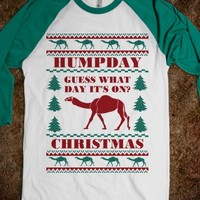 Hump Day Falls on Funny Ugly Sweater Jersey