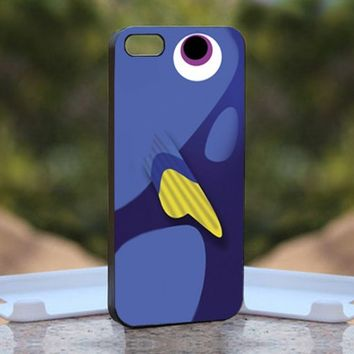Finding Nemo dory, Print on Hard Cover iPhone 5 Black Case