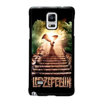 LED ZEPPELIN STAIRWAY TO HEAVEN Samsung Galaxy Note 4 Case Cover