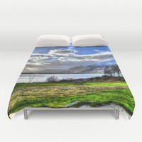 Scotland Duvet Cover by Haroulita | Society6