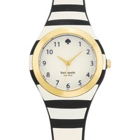 kate spade new york | women's black stripe rumsey watch | Nordstrom Rack