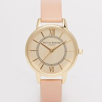 Olivia Burton Dusty Pink Wonderland Midi Watch
