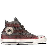 Converse - Chuck Taylor Washed Canvas - Hi - Turtledove/Black