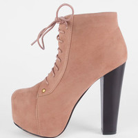 Victoria Booties in Taupe :: tobi