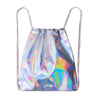 HOLOGRAPHIC STRING BAG from Storeunic