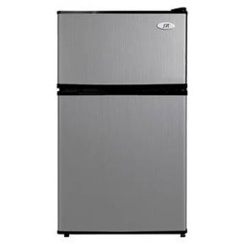 Sunpentown 3.1 Cu.Ft. Mini Refrigerator - Stainless Steel CC10G