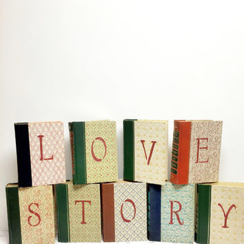 Lovestory, Love Story, Our Love Story,  Bridal Shower, Book Theme Wedding, Book Wedding, Valentines Day Wedding,Centerpiece Book Wedding