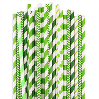 St Patricks Paper Straw Assortment