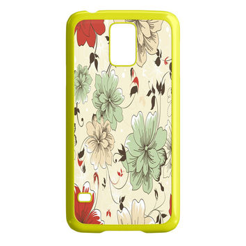 Vintage Flower Samsung Galaxy S5 Case