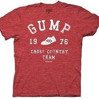 Forrest Gump Cross Country Licensed Movie Cotton Blend Adult T Shirt