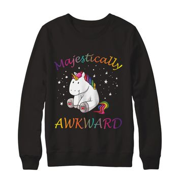 Majestically Awkward Unicorn T-Shirt Unisex