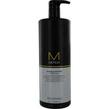 PAUL MITCHELL MEN by Paul Mitchell MITCH DOUBLE HITTER SULFATE FREE 2-IN1 SHAMPOO & CONDITIONER 33.8 OZ