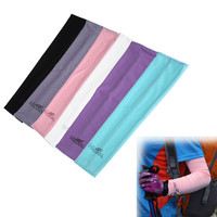 New 1 Pair Cooling Arm Warmer Sleeves Cover UV Sun Protection For Golf Cycing Running Outdoor Sports Safety EA14