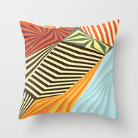 Yaipei Throw Pillow by Anai Greog