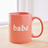 Babe Mug | Urban Outfitters