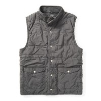 Quilted Reversible Vest - Outerwear - Mens Shop