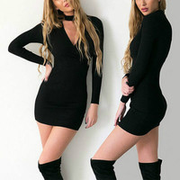 . Tunic Slim Bandage Dress