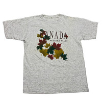 Vintage 90s Canada Niagra Falls Shirt Made in Canada Mens Size Medium