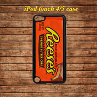 ipod touch 5 case,ipod touch 4 case,ipod touch hard case---Reese's Peanut Butter Cup,in plastic