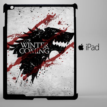 game of throneswinter is coming iPad 2, iPad 3, iPad 4, iPad Mini and iPad Air Cases - iPad