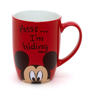 Disney Mickey Mouse Peek-a-Boo Mug | Disney Store