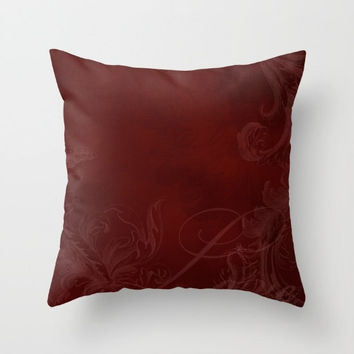 Decorative Throw Pillow - 4 different sizes to Choose From, Square or Rectangular, Double-sided print, For Indoors or Outdoors, Red, Love