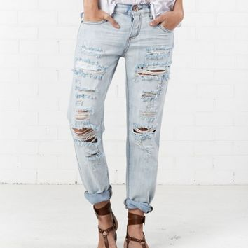 HAMPTON AWESOME BAGGIES STRAIGHT LEG JEAN