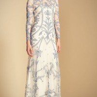 Long Francine Tattoo Dress