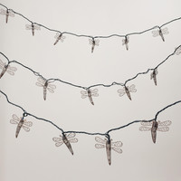 Copper Dragonfly 10 Bulb String Lights - World Market