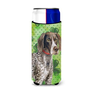 German Shorthaired Pointer St Patrick's Michelob Ultra Hugger for slim cans BB9815MUK