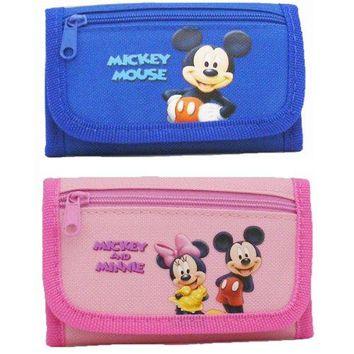 Disney Mickey and Minnie Wallets 2 Wallets