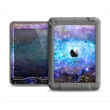 The Glowing Space Texture Apple iPad Mini LifeProof Nuud Case Skin Set