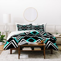 Elisabeth Fredriksson Wicked Valley Pattern 2 Duvet Cover