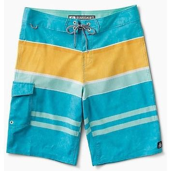 Reef Layered Men's Boardshorts - Aqua