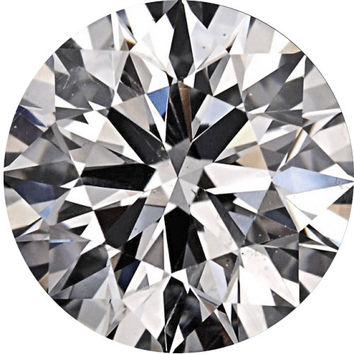 1.06ct G-SI1 Round Brilliant Cut Round Diamond