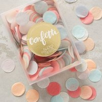 Fluttering Paper Confetti by Anthropologie in Pink Size: One Size Gifts