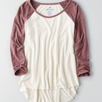 AEO Soft & Sexy Plush T-Shirt , Orchid Bouquet