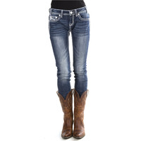 Women's Low Rise Skinny Jeans