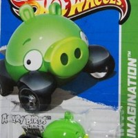2012 Hot Wheels Hw Imagination Angry Birds Minion Pig:Amazon:Toys & Games